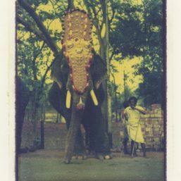 Tamil Nadou transfert de polaroid sur papier Arches Bruce Paoli Pictopicte
